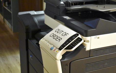 Printer not found