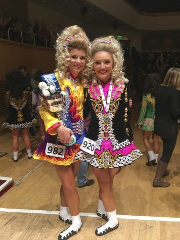 Junior Bea Ross performs in international dance competition