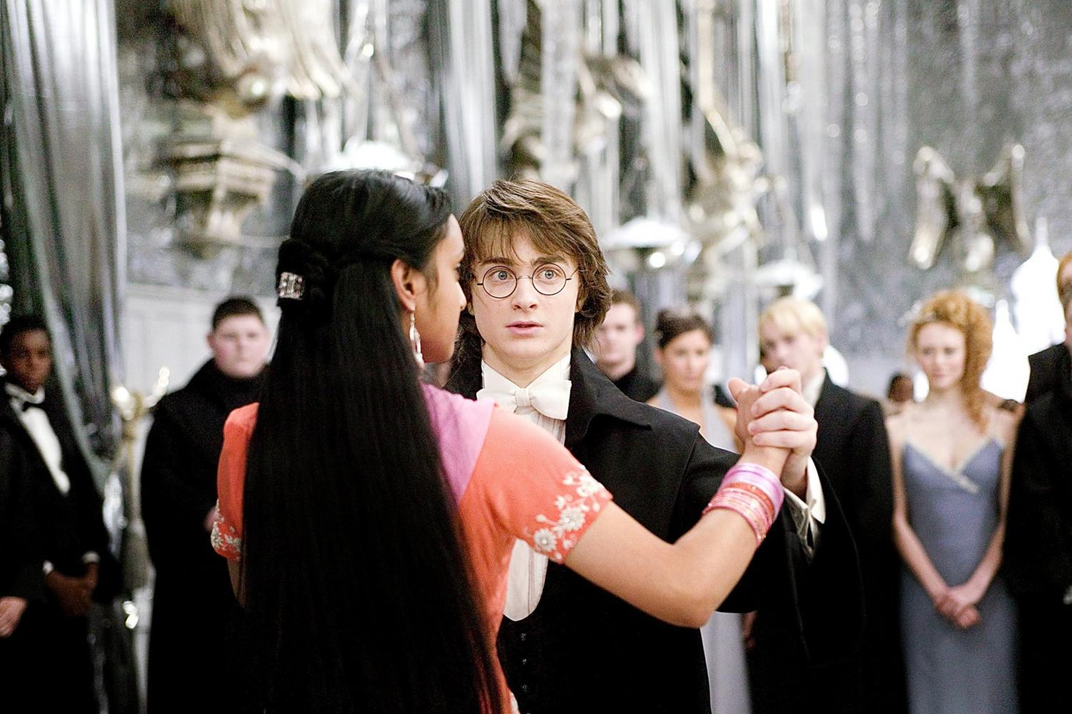 "The Yule Ball as depicted in one of the ""Harry  Potter"" films serves as the formal's inspiration."