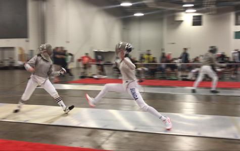 Sophomore Arabella Sunga represents U.S. in international fencing competition
