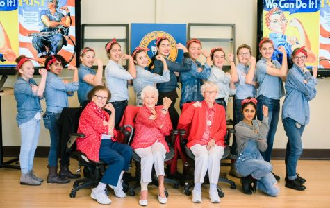 Rosie the Riveter's visit campus to help celebrate Women's History Month