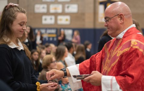 The NDB community celebrates its annual Mass of the Holy Spirit with Father Tom V. Martin.