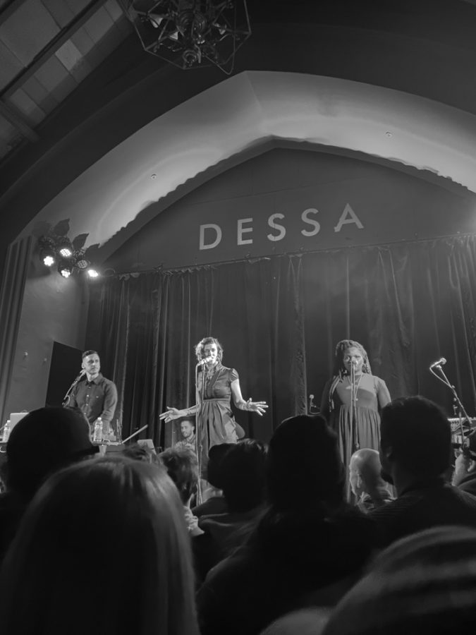 Review: Dessa makes a connection