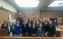 NDB Mock Trial competed entirely online this season, unlike typical courtroom competitions (Picture from 2019-2020 season).