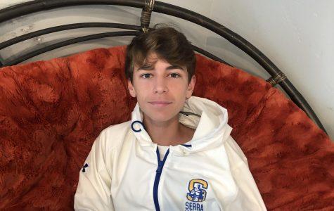 Cameron Clarke, freshman at Serra High School