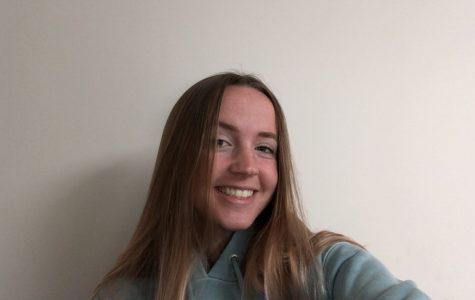 Sarah Johnston, senior at Saint Francis High School