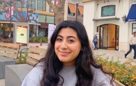 Maya Zeidan, senior at Mercy High School, Burlingame