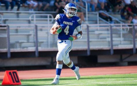 Nate Sanchez, senior at Serra High School