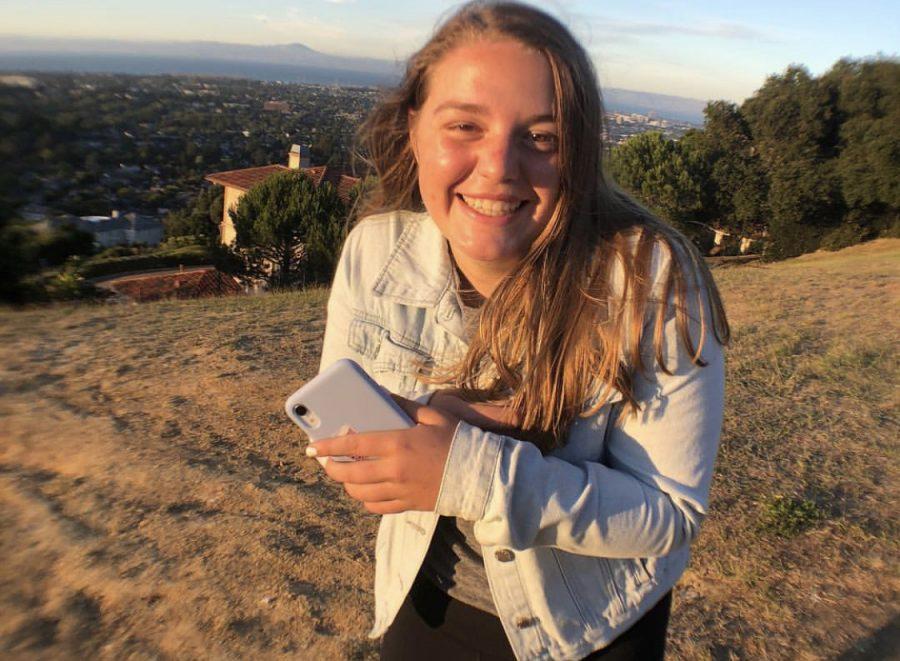 Madison Kammuller, junior at Burlingame High School