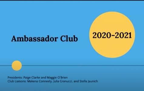 The Ambassador Club and every other club provided slide presentations during the Club Fair.