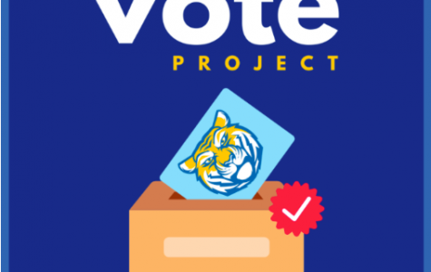 The Tigers Vote Project was created by the NHS Board and encourages all eligible members of the NDB community to vote.