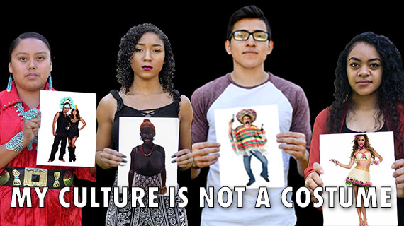 Original 'My Culture is Not a Costume' Campaign from 2017