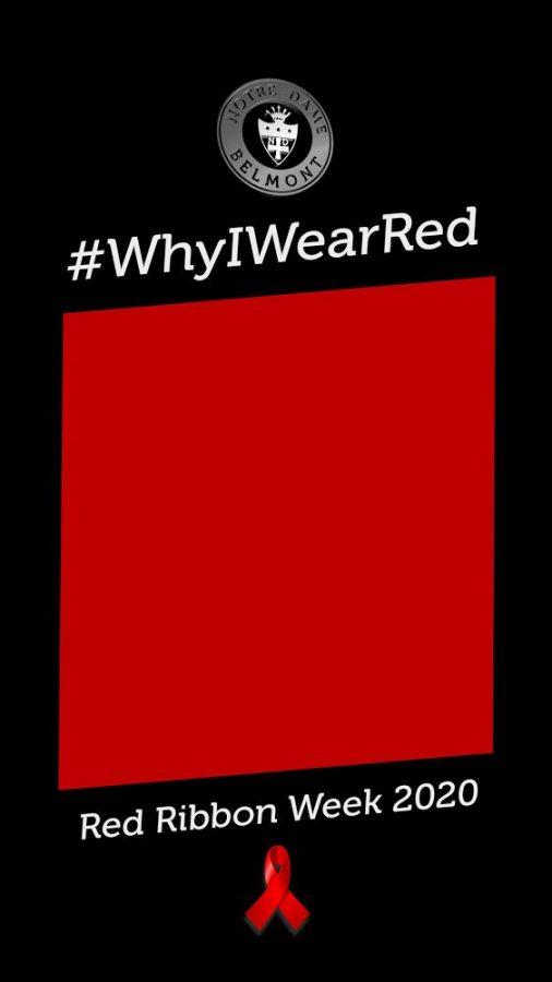 Instagram story template created by George Retelas for Red Ribbon Week.