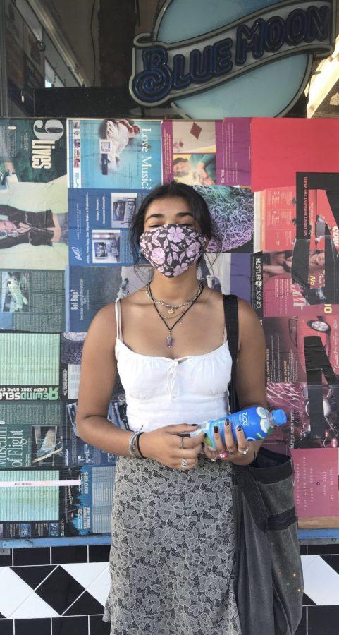 Aria Deshpande, sophomore at The Bay School of San Francisco