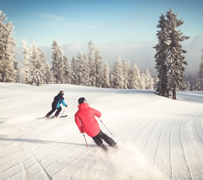Skiing spots close to the Bay Area