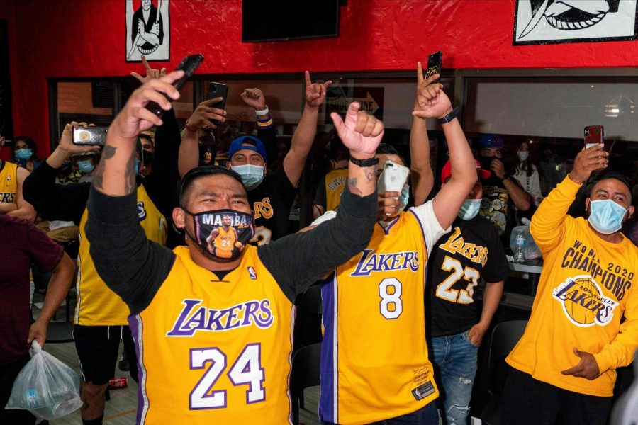 Fans+of+the+Los+Angeles+Lakers+are+hopeful+that+the+NBA+will+allow+some+fans+to+be+in+the+arenas+at+the+start+of+the+2020-21+season.