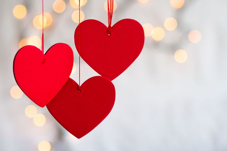 Valentine's Day, a time for people to show love to each other.