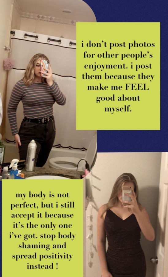 Sam Sutter takes to her social media to express her passion for body positivity and acceptance.