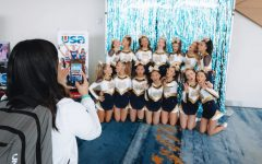 The NDB JV Cheer team last season at USA Nationals in Anaheim.