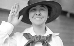 Loretta Perfectus Walsh before her time in the Navy.