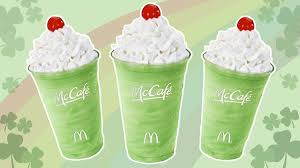 McDonalds releases their annual Shamrock Shake