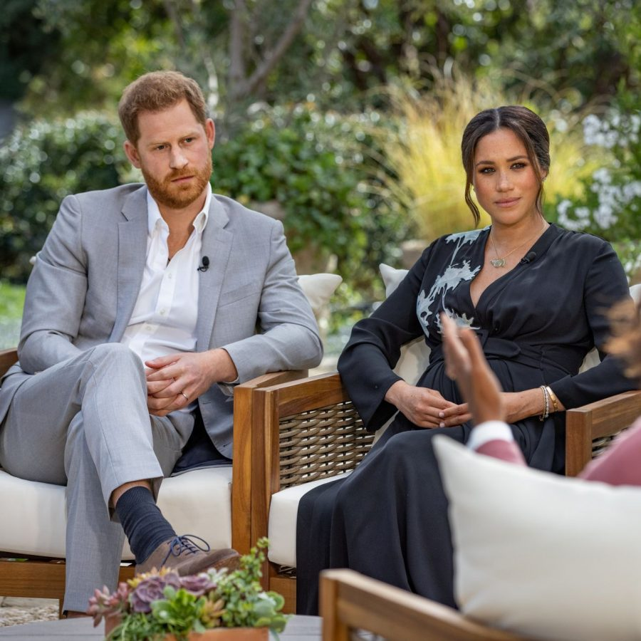 Prince+Harry+and+Duchess+of+Sussex+Meghan+Markle+discuss+royal+controversy+in+an+interview+with+Oprah+Winfrey.