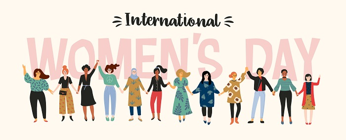 We come together from all different cultures and backgrounds to celebrate International Women's Day 2021.