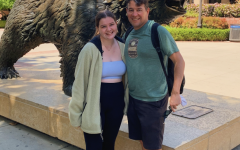 Ali Lewis and her Dad visiting UCLA.