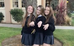 The class of 2021 smiles at their Junior ring almost two years ago.