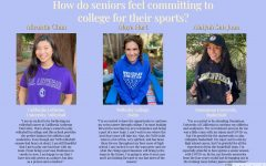 Infographic of NDB seniors committing to colleges for their sports.