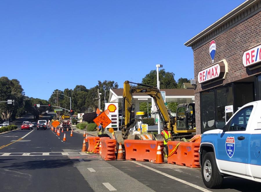 Construction on Ralston