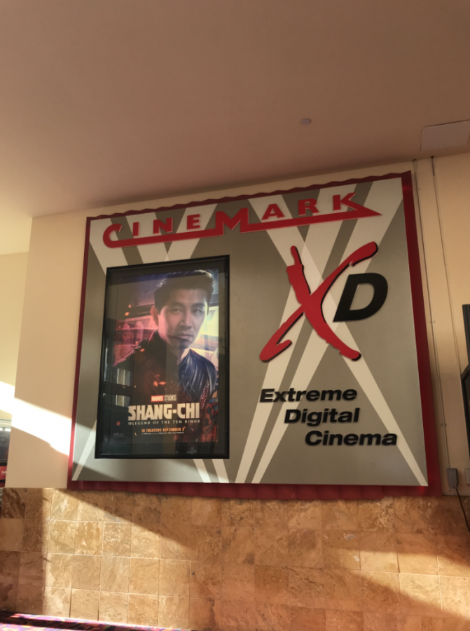 Promotional poster found at Redwood City movie theater.