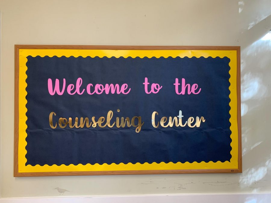 The NDB counseling center helps students navigate college applications.